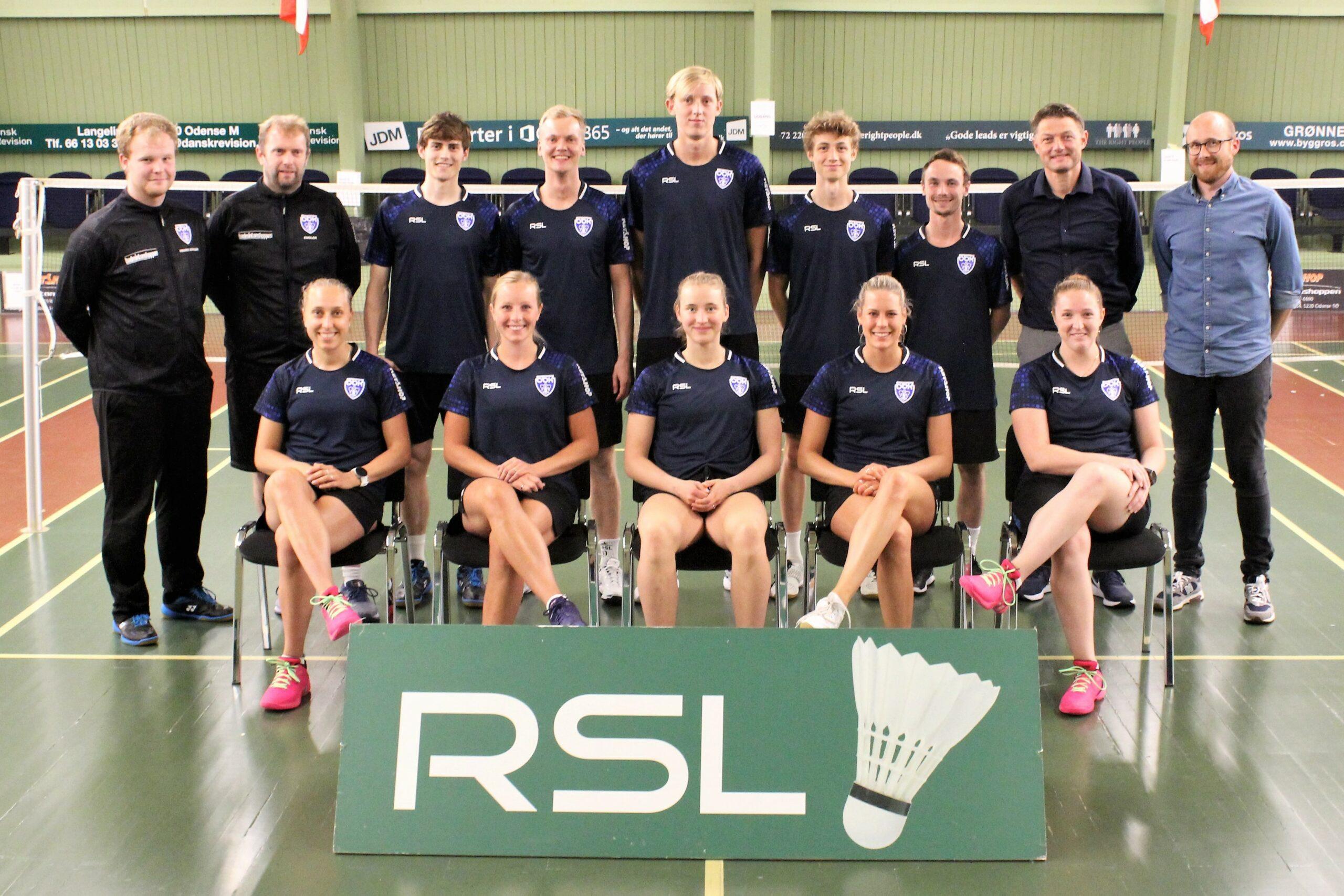 Guldvinderne gæster Odense Badminton klub