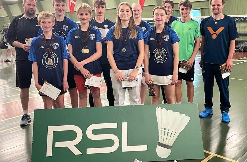 19 DM-medaljer til unge talenter fra Odense Badminton Klub